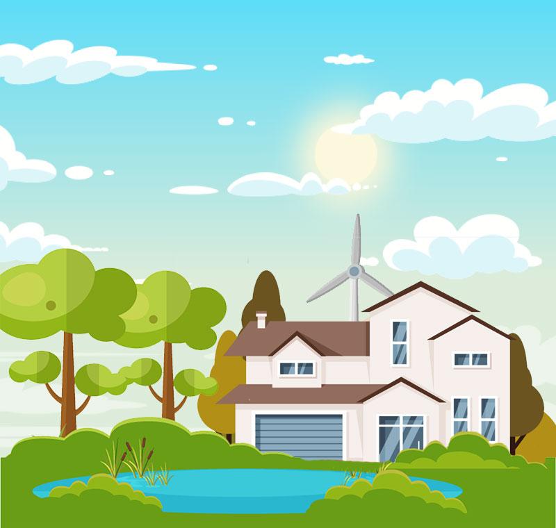 Energia Eolica Domestica: come funziona l'eolico a casa - Winnerland