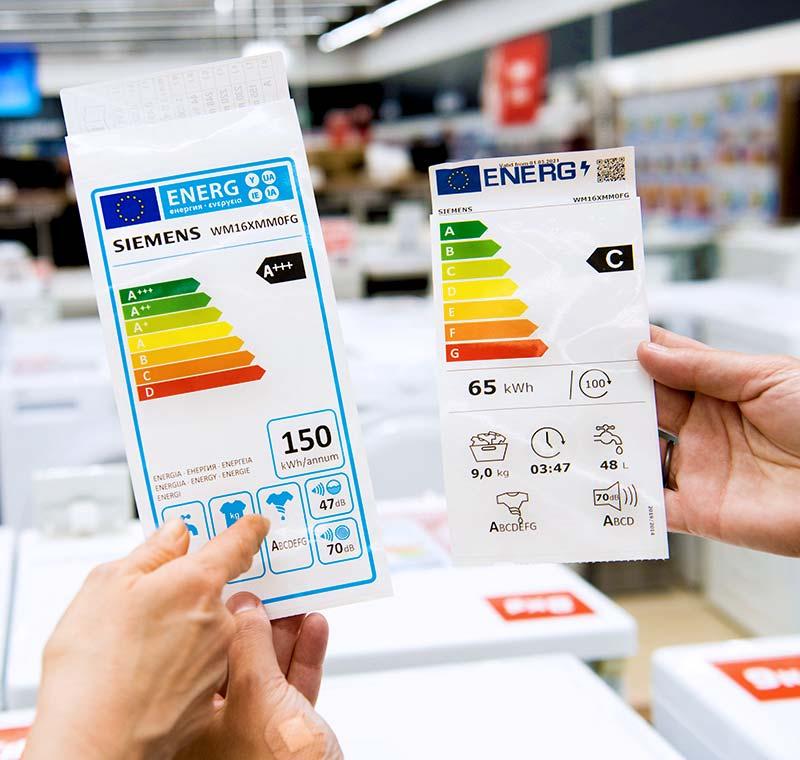 Le Nuove Etichette Energetiche per gli Elettrodomestici - Winnerland
